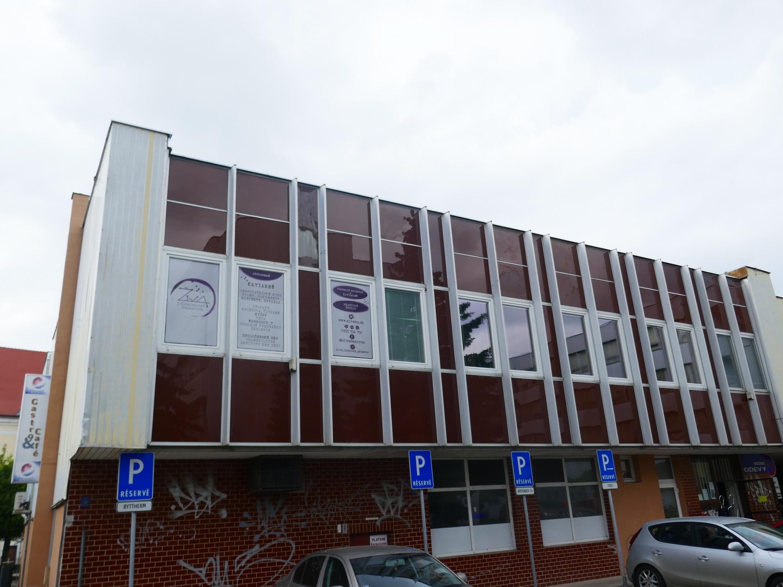 budova kancelárie MAS Bebrava
